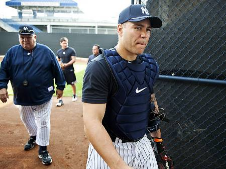 Martin was a very nice catcher for the Yankees, but his price tag combined with the presence of Gary Sanchez in the system left the Yankees with little choice but to part ways with Martin.    Martin was a very nice catcher for the Yankees, but his price tag combined with the presence of Gary Sanchez in the system left the Yankees with little choice but to part ways with Martin.