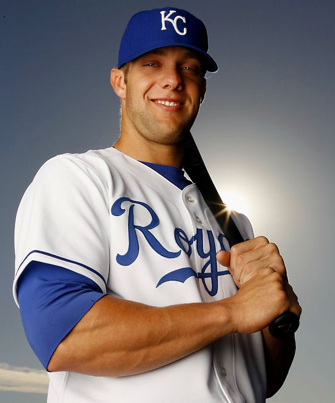 Kansas City Royals outfielder and Lincoln native Alex Gordon had a fly