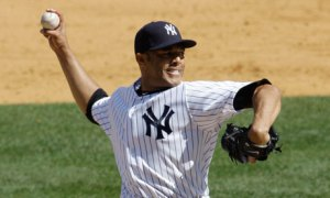 "Recovering from injury, Mariano Rivera returns to a Yankees to re-take his role at the back end of the bullpen. Yankee fans await with baited breath for the first time in 2013 that they get to hear ""Enter Sandman""."