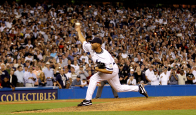 Mariano Rivera led the league in saves 3 different times, has finished 5 times in the top five for the AL CY Young.  He is the ALL-Time Saves Leader, the ALL-Time Games Finished Leader, Has and 0.70 ERA in postseason to go along with another 42 Saves.  Rivera is also the active Leader in WHIP (1.00), ERA (2.21) and was a 13 time ALL-Star.   It was a privilege to watch his last brilliant season during 2013.
