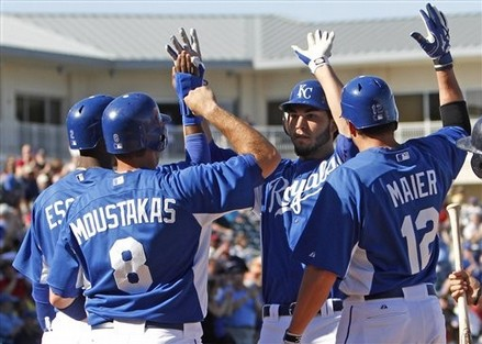 Kansas City has long hoped their prospects, plus pieces they brought in for Zack Greinke, would flourish in a kind of offense that could help end the 29 year playoff drought for the franchise.  The club has lots of speed, hits for decent averages, but simply lacks too little of power.  It is time for the management to take a risk - and bring in some heavy artillery!