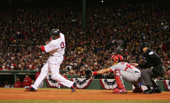 """David Ortiz is providing the kind of difference at the DH position that is an automatic advantage for the Boston Red Sox.  The 37 Year Old has hit for a 3 Slash Line of .314/.395/1.018 - accounting for 13 HRs and 48 RBI in his 46 Games.  The DH position was created for one dimensional players like '''Big Papi"""", however teams are not imploring awesome players for the slot."""