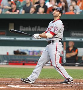Danny Espinosa had best start producing for this talented Washington Nationals club.  He has started the campaign at a 3 Slash Line of .176/.222/.556 even though he has cutdown his Strikeouts to start.
