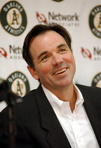 Billy Beane has pick- pocketed some of the best power hitting prospcects from other clubs that may just need a chance to prove their metal with some big league At - Bats.  His club has roared out of the gates - leading in most offensive and defensive categories so far.  The team has put up a 80 - 38 Record since starting last year 23 - 32.