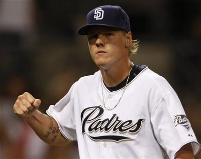 Mat Latos was traded to the Reds for Yonder Alonso, Yasmani Grandal, Brad Boxberger and Edinson Volquez.  It hasn't been a banner trade for the Southern California franchise.