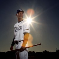 Desmond Jennings, Tampa Bay Rays Makes His 2011 MLB Debut