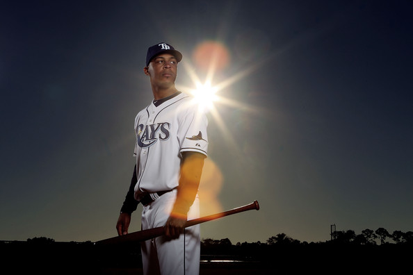 Desmond Jennings was counted on to fill the void left by B.J. Upton when he took over the CF position in 2013.  It wasn't a banner year.  With him hitting a HR for the 2nd straight game, it vaulted the Rays to a 3 game winning Streak.  2014 has been a kinder campaign to the 27 Year Old originally from Birmingham, AL - as he has slashed .277/.378/.463 - with 16 Walks, 6 SB and 16 Runs Scored in his 28 Games Played.  That is great production for the 5 year Veteran.