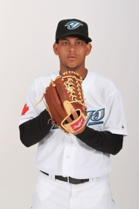 Alvarez came over in the trade with the Toronto Blue Jays.  He should have more success pitching in the NL.