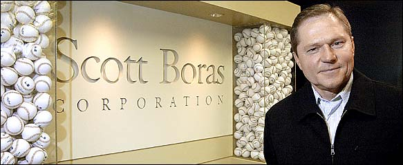 A man ahead of his time, Boras was one of the original moneyball players.  For his career, Boras had 133 walks and only 76 strikeouts.  Those numbers were for good for a lifetime .363 OBP, to go along with his .288 AVG.  Knee injuries unfortunately cut his career short and Boras only made it as high as AA ball.  With the baseball experience under his belt, Boras went on to practice law and from there become a full-time baseball agent in the early 1980s.