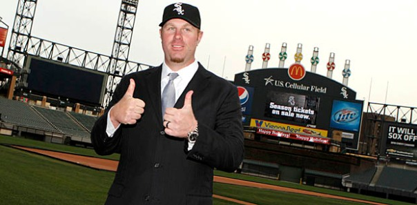 "It was a horrific beginning to his career in a White Sox uniform, on the heels of his 4 YRs/$56 MIL Pact before the 2011 campaign.  The giant slugger hit just .159/.292/.277 in 2011, before he revived his career in 2012, by pasting 41 HRs and driving in 96 runs.  The ""Big Donkey"" has now clubbed 101 HRs overall in 3 1/2 seasons, with a .732 OPS.  His 2014 numbers are his best yet in the Southside of Chicago at .232/.366/.439 - with 15 HRs and 42 RBI.  With just a $5 MIL remaining on his dough for the rest of the year, the 35 Year Old LHB should net the club a decent bounty on a trade in the next week."