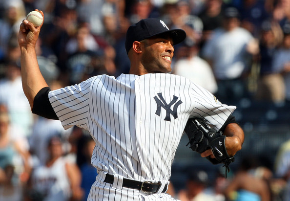 Mariano Rivera has led the league in saves 3 different times, has finished 5 times in the top five for the AL CY Young.  He is the ALL-Time Saves Leader, the ALL-Time Games Finished Leader, Has and 0.70 ERA in postseason to go along with another 42 Saves.  Rivera is also the active Leader in WHIP (.998), ERA (2.21) and is a 12 time ALL-Star.   At 43, might he have one more stellar season in him?