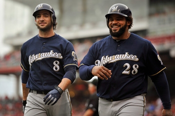 It was too bad that Prince  Fielder couldn't have stayed a Brewer as they could have been a force for many more years to cone