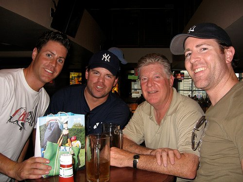 2008 streak with brother's anddad