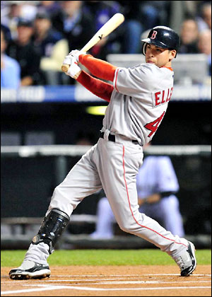 Ellsbury played at a AL MVP Caliber clip in the 2011 - if Boston wants any chance to compete this season, they will need for him to play like he has in this 1st half.  While his power has eluded him (1 HR only) - he has Stolen 32 Bases, has hit .293 - and scored 49 Runs in 73 GP.  The biggest decision to be made will be to whether or not the franchise will re-sign their CF - or go with a younger player in Jackie Bradley JR?
