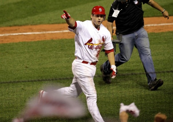 David Freese has experienced a lot of ups and downs with the Cardinals.  From being the 2011 WS MVP, to barely being able to keep himself on the field healthwise.  2013 represented the 31 Year Old's worst year in the bigs, with just 9 HRs and a career low .721 OPS in 462 AB.  For his 5 year career, he has put forth a .286/.356/.783 slash Line.  The Angels will need something more along those lines to compete in 2013.  The trade still left them exposed in the OF, and I think it was a poor decision for the organization - but no so much for the player.  I would have rather seen them sign a FA 3B.