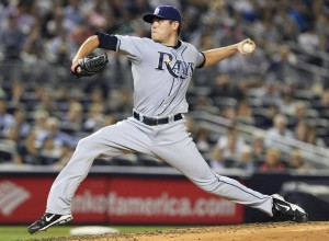 Matt Moore has a solid second half of the 2012 Year - with a 6-5 Record and a 3.01 ERA and may move the depth chart on the starting rotation if a trade is made with another one of the Rays starting pitchers for the 2013 season.  Moore is in the 2nd year of a 5 YR/14.0 Million Dollar Contract.