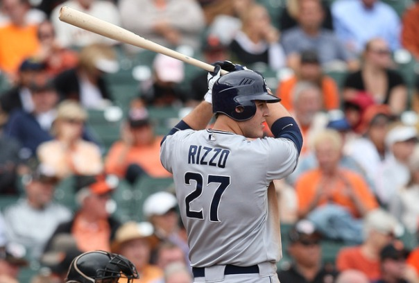 Rizzo had  a decent rookie campaign - with a 3 Slash Line of .285/.342/.805 with 15 HRs and 48 RBI in just 337 AB during the 2012 season.