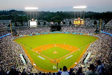 Dodger Stadium has the capacity to outdraw every other ballpark in the Majors, with hovering at over 56,000 per game if full.  The Dodgers spent over $236 MIL on team payroll, had a 1st place club - and it showed up at the gate, leading the Majors in attendance for last season -with over 3.7 MIllion fans