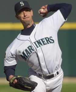 Jamie Moyer won 2O games with the Mariners into his 40's as a soft tossing pitcher.  That is some video worth watching for Randy Wolf.