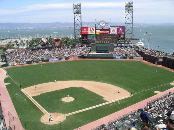This is what it is all about for the youngsters - being able to head to the Bay and play for the World Champion San Francisco Giants. This is the best ballpark in the Major Leagues.