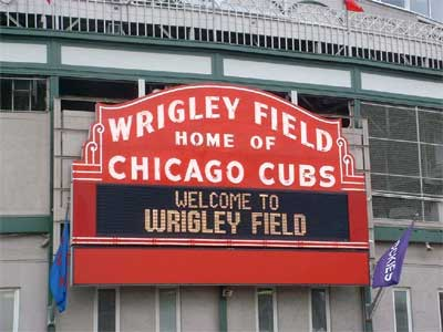 Wrigley Field is about the best all natural ballpark experience out of all of the 30 teams in the MLB - however the attendance has started to sag with the recent play of the franchise.  Wrigley Field has seen a decline in fans attended every year since 2008, down from 3.3 Million fans in 2008, to 2.65 Million people in 2013 (only good for 7th out of 15 NL Teams).  Today's 100th birthday of the field should be the best game of the year at Addison and Clark.