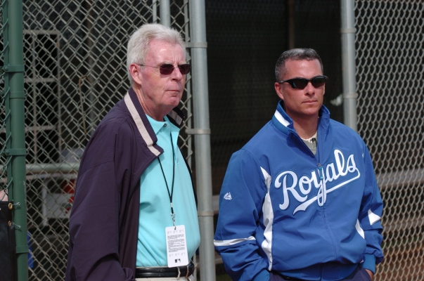 Dayton Moore has the task of taking the longest suffering MLB Team without making a Post Season Berth, (1985), back to the promise land of the playoffs.  The club replaced 80 % of the Starting Rotation from Opening Day last year.  Mr.  Moore has to compete with GM's that have double the payroll of his club.  The Royals at least play in the AL Central, where Detroit is the only perennial favorite in the American League.