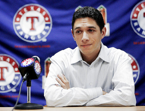 Jon Daniels will be keeping a keen eye on what happens with the pitching staff.  If the Rangers can keep everything together, and be fully operational by summer, look the hell out.  Daniels will do some trading and spend every $ he is allocated for another World Series run,  The team has an outstanding Lineup a- and depth in the Bullpen.