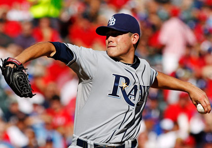 Matt Moore is 9 - 1 in his last 13 Games pitched in, and he went 17 - 4 for the year overall.  The Rays should have an early advantage - through playing fresh.  Their +425 ODD to win the ALCS is the best value on the board of LCS Winners, in terms of actually happening.
