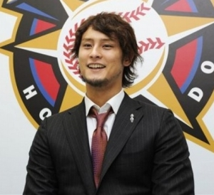 Yu Darvish finished 3rd in ROY Voting and 9th in AL CY Young Voting - with a 16-9 Record.  He had an ERA of 3.90 - but fanned 221 (2nd in AL) in just 191.1 IP