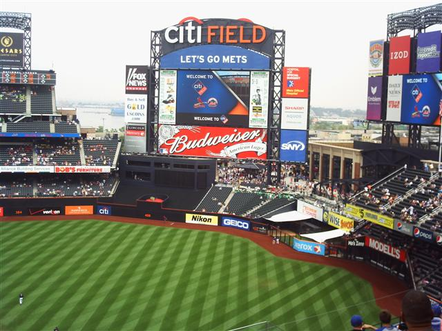 Citi Field is one of the newest Ball Parks in the Majors and was the host to the 2013 ALL - Star Game.  It is light years ahead of where Shea Stadium was.  Despite having a great young core of players - including a dynamic young Starting Rotation, the team is 12th in Home Attendance.  A lot of the problems stem from poor ownership over the last few seasons.  The Wilpons are lucky enough to have a plethora of young controllable Infielders and Pitchers, the big need is for the OF going forward.  The club should definitely invest some money in this area for 2014.  Lucas Duda, Kirk Niewenhuis, Eric Young Jr, are simply not starting OF at the present time.  Their best patrolling player beyond the grass this campaign has been Marlon Byrd - and he is a Free Agent in 2014.