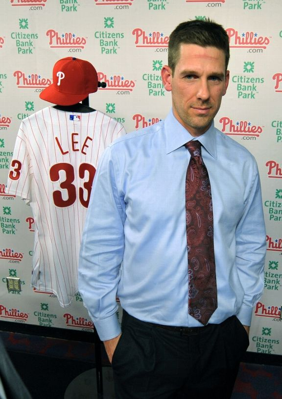 Cliff Lee is 83 - 35 with an under 3.00 ERA since the beginning of the 2008 season (.704).  In 2009 and 2010 Lee was a Trade Deadline acquisition that then proceeded to lead that new team to a World Series Birth.  Both teams ( PHI - 2009) and TEX (2010) lost those World Series.  Maybe a 3rd crack would see him net a title.  The 34 Year Old makes $25 MIL this year, plus $25 MIL for both of 2014 and 2015, he also has a Vesting Option for 2016 worth 2016 with $27.5 MIL - if he can pitch 200 IP in 2015 or a combined mark of 400 IP In 2014 and 2015.  The deal carries for a $12.5 MIL if he reaches these.  That means he could potentially make $62.5 MIL total for 2014 and 2015