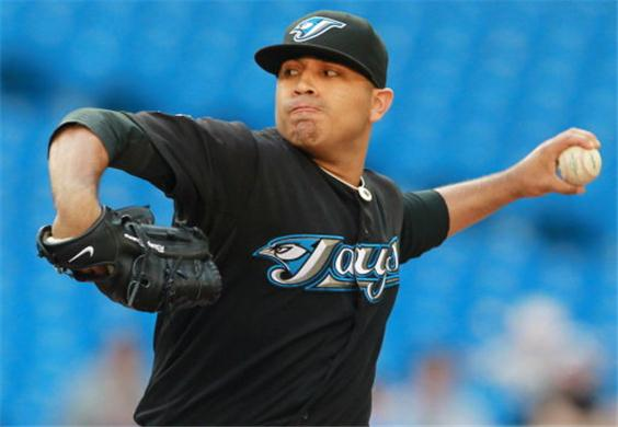 Ricky Romero started out  the year out 8-1 in 2012 to push his lifetime record to 50-30 (.625) at the time and was poised to have his best win season of his career. He then lost 13 straights before ending the streak with a win late in the year.  Romero's ERA went from 2.92 in 2011 to 5.77 in 2012.  As the clubs #3 or #4 starter in 2013, he should benefit against other clubs #3 and #4 starters.