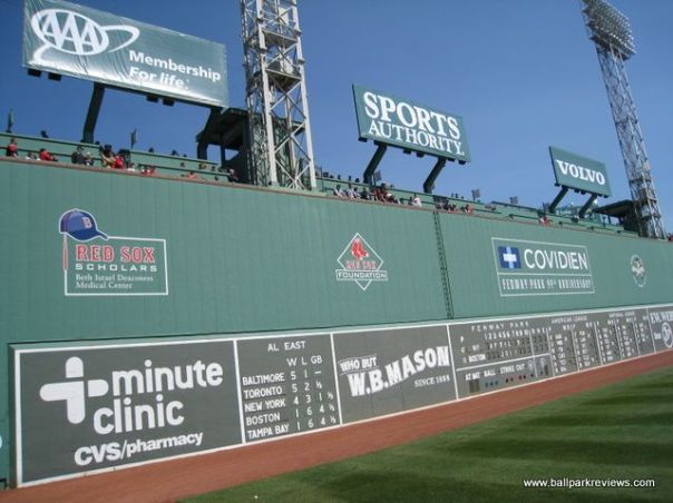 Fenway Park is not just a place - it is a community around the ballpark.  This fence also made the Stadium Journey's top 10 quirks of baseball.  Boston will have home field advantage for the World Series - since the AL won the ALL - Star Game in 2013.  If it makes anybody feel any better, the Red Sox had the best record in baseball this season anyway.