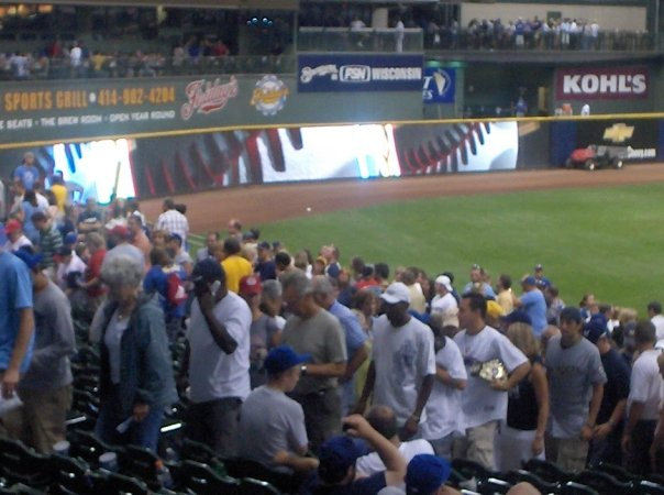 Miller Park is one of the best parks to watch a game in.  They actually give away a free fridge full of beer to the best tailgate in the parking before the lot.  However with the loss of key players over the last few years, plus the saga of the Ryan Braun, how much more will the fans endure to show up at the park.  The 2013 version of the club, finished 74 - 88 (4th in the NL Central), with Braun missing 65 games.  But seriously the team was headed nowhere with their talent base, so why not trade him for 2 or 3 younger players, that could be part of the core nucleus when the team competes again?