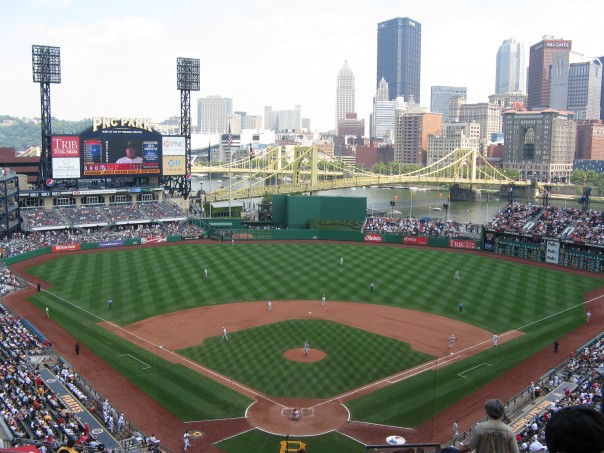 The view of the Roberto Clemente Bridge is worth the price of admission alone