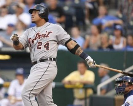 Miguel Cabrera has hit 321 HRs, 386 Doubles and 13 Triples in his 1st 10 years  in the Major Leagues.