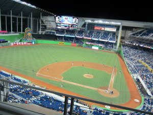 After drawing an attendance of 2, 219, 444 in 2012 (12th out of 16 Teams in the NL), the Marlins receded to 1, 586, 332 in 2013 (Dead Last in the 15 Team NL), and only fellow Florida team Tampa was worse at 1, 510, 300 in the MLB