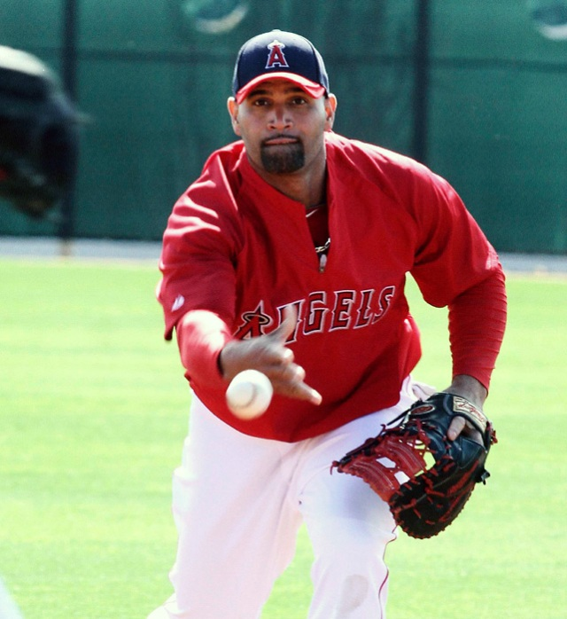 Albert Pujols signed a 10 YR/$250 MIL contract with the Angels at the age of 31.  At that time, he was still one of the best players on the planet.  He now has a 3 slash of .269/.330/.479 - with 64 HRs and 219 AB in his 1326 AB for the Angels.  His production this year has him on pace for a 30 HR, 90+ RBI campaign.  Not becoming of a $24 MIL AAV man - but at least he is healthy, and one of the best producers at 1B currently in the game.