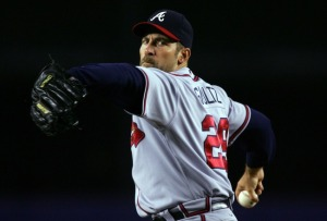 Isn't it funny how times change, the Braves used to be the model franchise when it came to health of their Pitching Staff.  Now it seems that every year there are a couple of guys going down with Tommy John Surgery.  What is going on?  Of course there were outliers with the Leo Mazzone led pitchers, but Smoltz came back from TJ Surgery to be extremely effective..