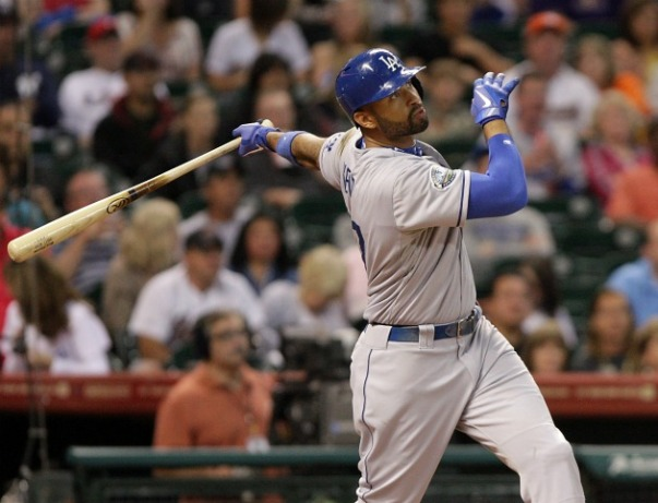 Matt Kemp was on top of the world in the 2011 season, with hitting 39 HRs and stealing 40 bases, en route to a 2nd place finish.  2012 started like 2011 ended, before Kemp has battled a myriad of injuries over the last 2 years, and has caused doubt to whether he can regain his previous form.  While he may not get there, look for a decent Batting Avg and OBP this year.  Kemp is recovering from a broken ankle and has resumed running drills.  If he is not able to go on Opening Day. at least the Dodgers have Andre Ethier next on deck.