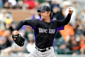 Jamie Moyer defied all odds when he came back to the MLB at the age of 49 to become the oldest player to return from TJ Surgery.  He also smacked a base hit as the oldest pitcher ever and won a few games for Colorado.