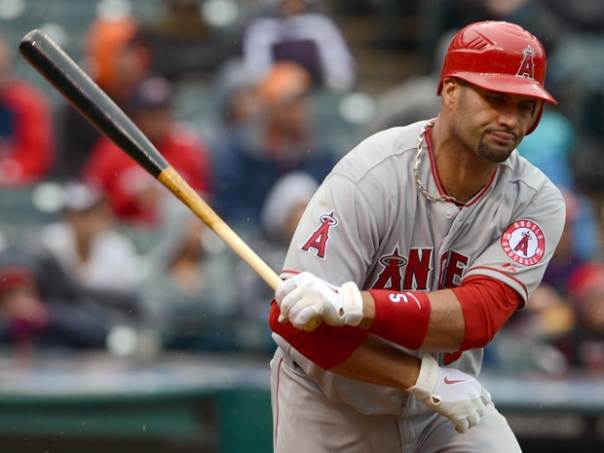 Albert Pujols kicked off the 2012 year by struggling brutally for the 1st 6 weeks. This year the man is off to a hot start - and can't be faulted for the teams failures so far. The Active Leader for Batting Average at .325 is back to his MVP form. The most telling stat the he is in the Zone is his Walks to Strikeout Rate being 11 - 3.  The 33 Year old is also the Active Leader for OPS among players at 1.022.