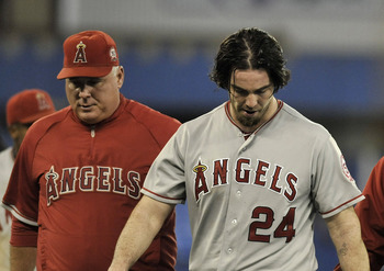 Mike Scioscia has seen his once versatile and more fast team be decimated by expensive incoming Free Agents - that have been injury prone.  He really doesn't suit the type of ball club he is running.  The former Catcher would be better off running a team similar to what the Rays and A's possess.
