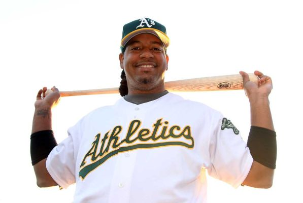 Manny Ramirez was last sniffing around the MLB with Oakland last year in the Minors.  Technically, he finished his PED suspension from the year before  - accrued with the Tampa Bay Rays.  Before that, he was with the White Sox, Wait a second??? When was the last time Manny was Manny on the field?