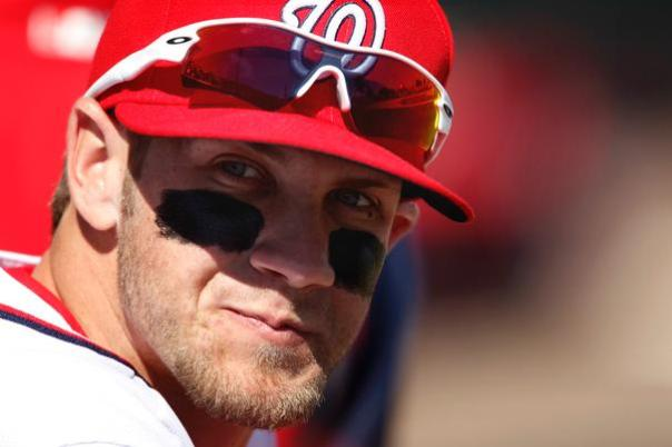 Just how far can Bryce Harper improve during his 2nd season?  If he can improve by about 15 % might we see a 30 HR/ 30 SB, year with around 120 Runs Scored and 80 Extra Base Hits?  This would vault the 20 Year Old LF.  He hit 2 HRs on Opening Day - and is Walking and crushing regular hits as well.