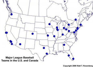 The Traveling Salesman Problem: 30 MLB Stadiums In Record Time | MLB ...