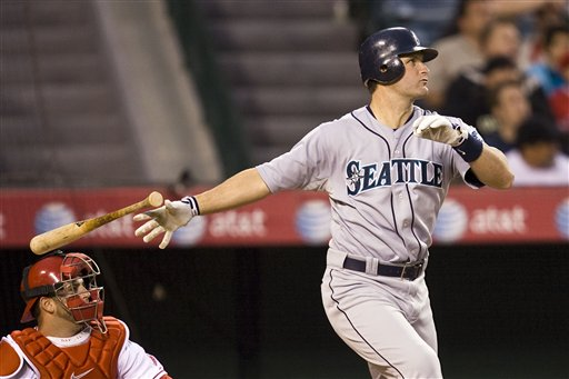 Russell Branyan had raw power and was never given a chance to play full time despite ranking 6th amongst Active players in HRs per AB with a HR for every 15.12 AB. He was the last Mariners player to crank 30 HRs in a year.