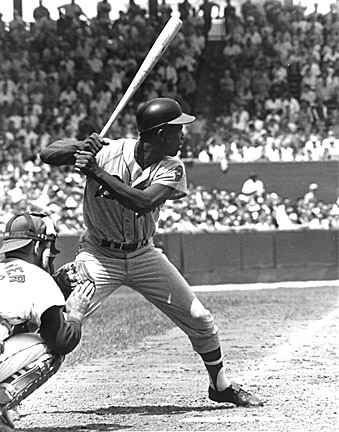 'Hammering' Hank passed the legendary Babe Ruth as the ALL-Time HR leader in 1974. Some still feel that he is the ALL-Time HR leader with the admitted steroid use from Leader Barry Bonds.  Not only did Aaron smack a pile of HRs, he is the ALL - time Leader in MLB History for RBI (2297) and XBH - with 1477.  He was slow and steady, proving the bat speed and a 28 ounce bat could do a ton of damage.