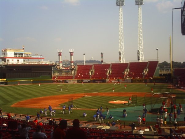 The home site of the 2015 MLB ALL - Star Game, The Great American Ball Park..