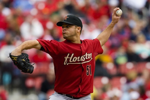 Picking up Rodriguez and having the Astros eat some of the salary was a great move for Huntington.  The Pirates need to think outside the box like this to secure Starting Pitchers.  It beats paying for them in an over - bloated Free Agent Market.